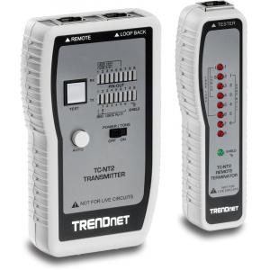 Arvutivõrgu kaabli tester (TP & Coax) + toongeneraator