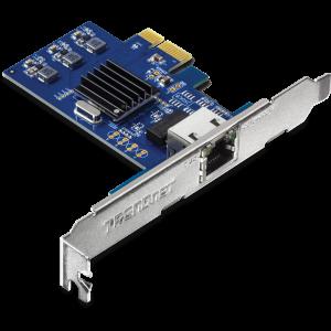Võrgukaart: PCIe, 2.5GBASE-T, low-profile komplektis