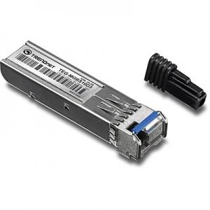 Mini-GBIC (SFP) Dual Wavelength Single-Mode LC Moodul / 10km (töötab koos TEG-MGBS10D5-ga)