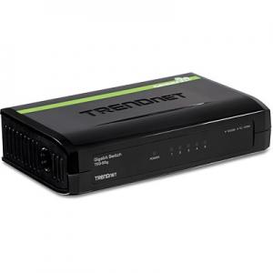 Switch: 5 x 10/100/1000Mbps, plastikust, madal voolutarve, energiasääst kuni 70%