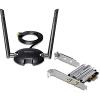 WiFi võrgukaart: PCIe x1, AC1200 5GHz, N300 2.4GHz, 2 antenni + magnetalus,Low Profile komplektis