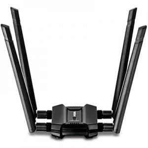 WiFi võrgukaart: USB 3.0, AC1900, N600, 4 x vahetatava antenni ja kaabliga