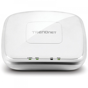 WiFi Access Point : 1x10/100/1000 PoE, AC1200 5GHz, N300 2.4GHz, AP, Klient, WDS Bridge, Repeater, 8+8 SSID