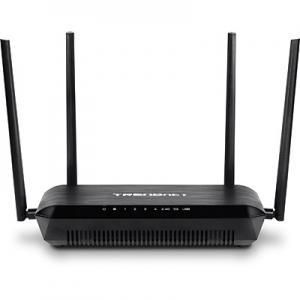 WiFi ruuter: LAN / WAN Gigabit, AC2600 1733Mbps + 800Mbps N, 2.4GHz ja 5GHz, 2xUSB3.0, vahetatavad antennid