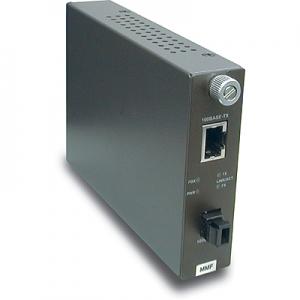 FO konverter: 100Base-TX <> 100Base-FX Multi Mode MT-RJ / 2km