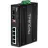 Tööstuslik PoE Switch: 6 porti - 4 x Gigabit PoE+,2 x Dedicated SFP , Din-Rail, IP30, -40 to 75 ºC, 60-120W, ülepinge kaitse.