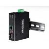 Tööstuslik PoE+ FO konverter: 100/1000Base-T <> SFP Media Converter, 60W PoE+, UPoE, Din, IP30, -40 to 75 ºC