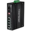 Tööstuslik PoE Switch: 4 x Gigabit Ultra PoE+,2x dedicated SFP porti, Din-Rail, IP30, -40 to 75 ºC, 240W