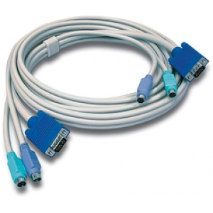 KVMi kaabel: VGA + PS/2, 3.0m