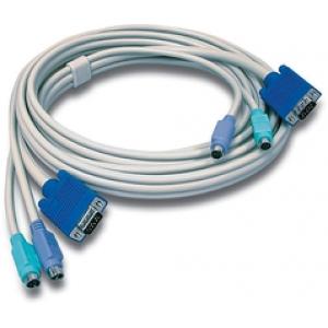 KVMi kaabel: VGA + PS/2, 4.5m