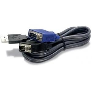 KVMi kaabel: VGA + USB, 4.5m