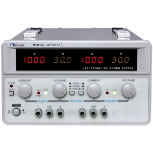 Labori toiteplokk 2 kanaliga 2x0-30V / 0-10A