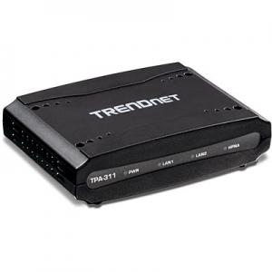 Koaksiaalvõrgu adapter: 1x HomePNA, 1x TV coaxial, 2x RJ-45 Fast Ethernet