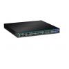 PoE Switch: 48-Port Gigabit Web Smart PoE+,4 x jagatud Mini-GBIC (SFP) pesa, räkitav
