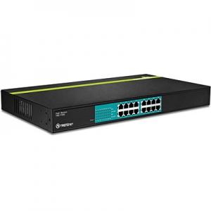 PoE Switch: 16 x 10/100Mbps PoE porti, kuni 30W pordi kohta, 480w