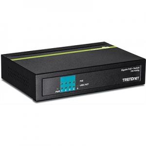 PoE Switch: 4 x Gigabit PoE+, 1 x Gigabit, kuni 30W pordi kohta