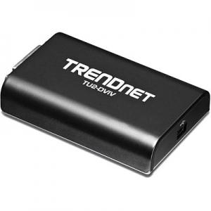 Konverter USB 2.0 - DVI / VGA, 1080p