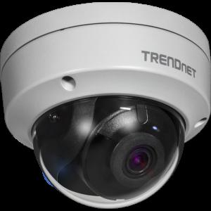 IP kaamera: öö / päev (öösel kuni 30m), 8MP 3840 x 2160@20fps H.264+, D-WDR , IP66, PoE, MicroSD, kuppel