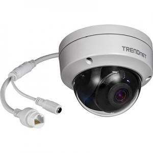 IP kaamera: öö / päev (öösel kuni 30m), 8MP 3840 x 2160@20fps H.264+,120dB D-WDR , IP66, PoE, MicroSD, kuppel
