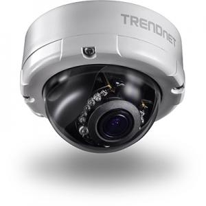IP kaamera: öö / päev (öösel kuni 20m) 4MP 2688 x 1520@30fps, D-WDR, MicroSD, 4,2 x optiline zoom, kahesuunaline heli GPIO, IP66, PoE, kuppel