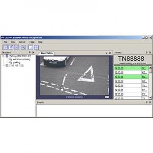 IP kaamera tarkvara lisa TRENDnet Luxriot VMS tarkvarale , numbrimärgi tuvastus 2-le (TRENDnet + üle 100 erineva tootja kaamerad)