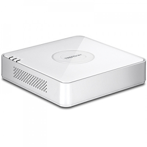 IP kaamerate videosalvesti: 4x10/100 PoE,1x10/100Mbps, kuni 4TB HDD, 1080p,HDMI, VGA, RCA,2xUSB, ONVIF ühilduv