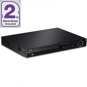 IP kaamerate videosalvesti: 8-le, 1x10/100/1000Mbps,2TB HDD sees, toetab kuni 12TB HDD, 1080p, HDMI, VGA, RCA,USB, ONVIF, räkitav