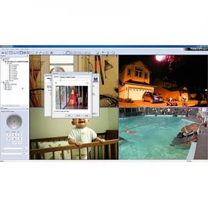 IP kaamera tarkvara arvutile,  kuni 16-le (TRENDnet + üle 100 erineva tootja kaamerad)