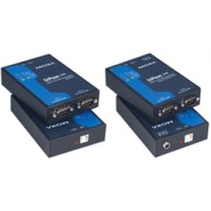 RS-232/422/485 USB konverter, 2 porti, opt. isol. 2KV + toiteplokk