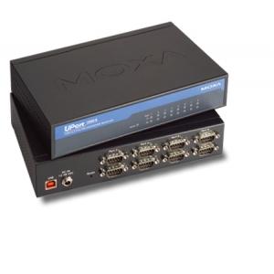 RS-232/422/485 USB konverter, 8 porti + toiteplokk