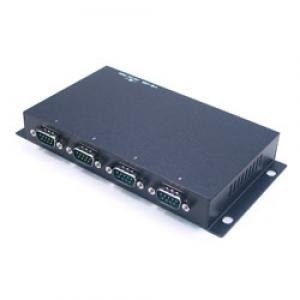 Konverter RS-232 (DB9M) > USB 2.0 / USB 1.1, 4 porti, ülepingekaitse, opt.isol.