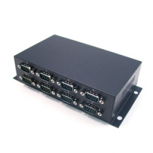 Konverter RS-232 (DB9M) > USB 2.0 / USB 1.1, 8 porti
