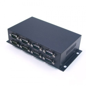 Konverter RS-232 (DB9M) > USB 2.0 / USB 1.1, 8 porti, ülepingekaitse, opt.isol.