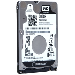 WD Black Mobile  500Gb HDD SATA 6Gb/s 7mm
