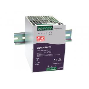 Toiteplokk DIN-liistule 480W 24V 20A