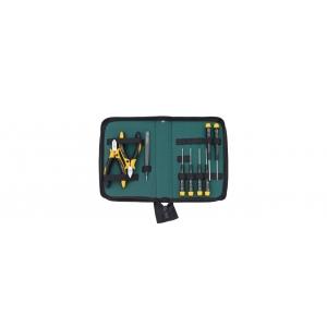 Tööriistakomplekt elektroonikutele, ESD, 9 osa