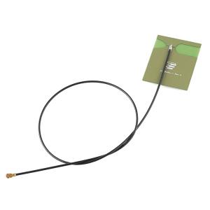 WiFi antenn, kleebitav, 2.4GHz/5.8GHz, 2dBi, uFL 350mm kaabel