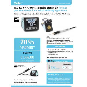 Jootejaam WX2010 Micro MS Soldering Station Set