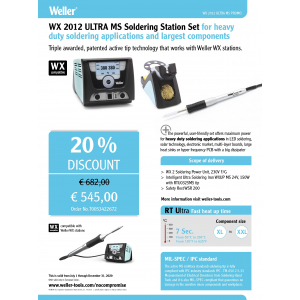 Jootejaam WX2012 ULTRA MS Soldering Station Set