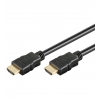 HDMI kaabel 2.0m + Ethernet, must, 2160p