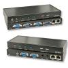 KVM (2 x VGA, USB, audio) kaabli pikendus läbi CAT5e kuni 200m