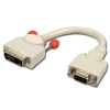 Üleminek DVI-A (M) - VGA (F) 0.2m