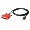 Konverter USB > RS-232 (DB25M) 1.5m