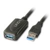 USB 3.0 pikenduskaabel võimendiga 5.0m (max lisatava kaabli pikkus on 1.2m)