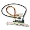 Konverter SATA + USB > Power Over eSATAp