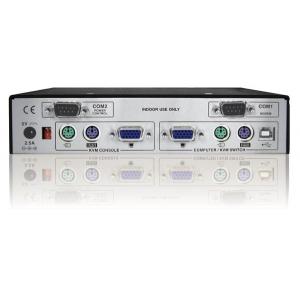 KVMi / Serveri juhtimine läbi IP (Real VNC protokoll) (VGA, PS/2) + lokaalse konsooli võimalus