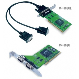RS-232 PCI kaart, Low Profile, 2 porti + DB9M kaabel