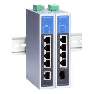 Switch: 5 x 10/100/1000BaseT(X), 4 x PoE+ (kuni 30W pordi kohta), 0 kuni 60°C, mittemanageeritav