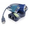 Audio / Video / RS-232 saatja kuni 300m läbi CATx, USB toide (ALAV100  seeria vastuvõtjatele)