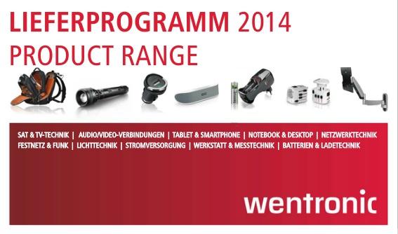 Wentronic catalogue 2014